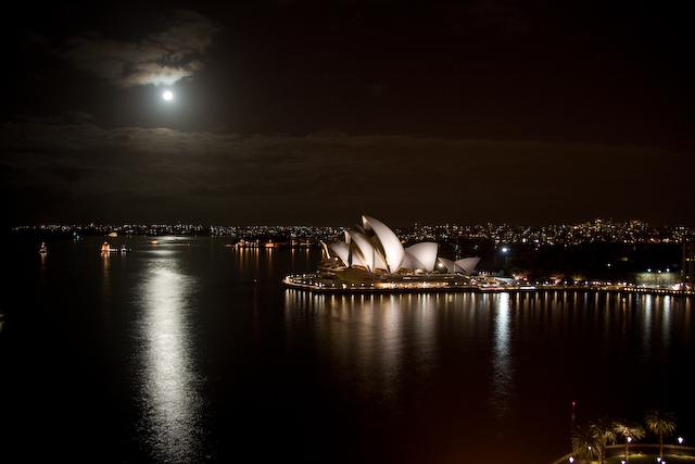 Syndey bei Nacht